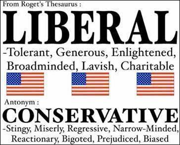 be a liberal