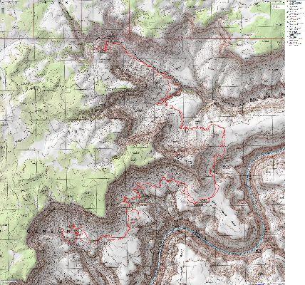 Map - Tuckup Trace
